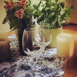 chef-aan-huis tintofood tafel gedekt voor catering amsterdam