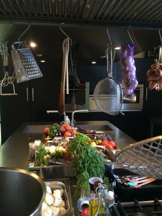 Koken met veel verse groenten Tinto